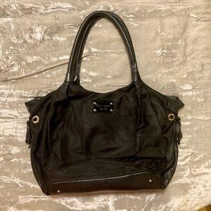 Black Kate Spade ♠️ tote bag